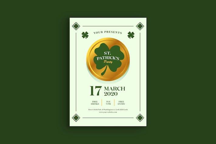 Affiche de la fête de la Saint-Patrick