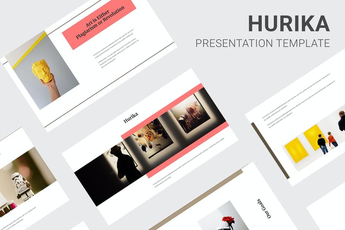 Thumbnail for Hurika - Art Gallery Powerpoint