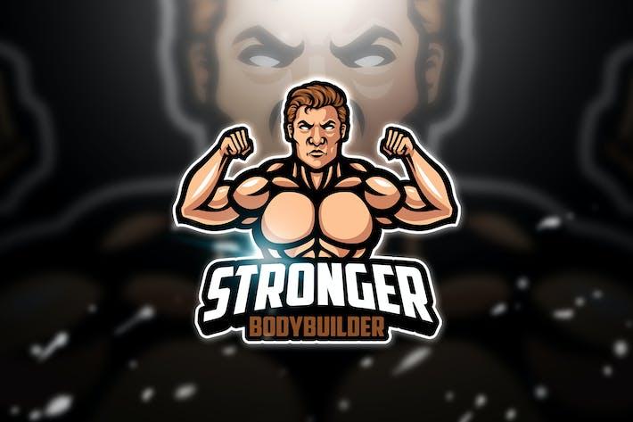 Thumbnail for Bodybuilder - Mascot & Esport Logo