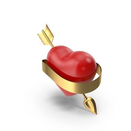 Сердце со стрелой и Баннер