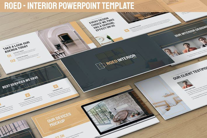 Thumbnail for Roed - Interior Powerpoint Vorlage