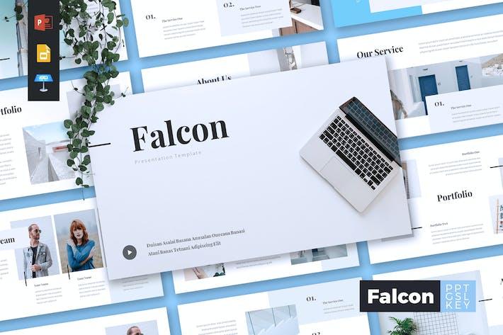 Thumbnail for FALCON - Company Profile Powerpoint/Keynote/Google