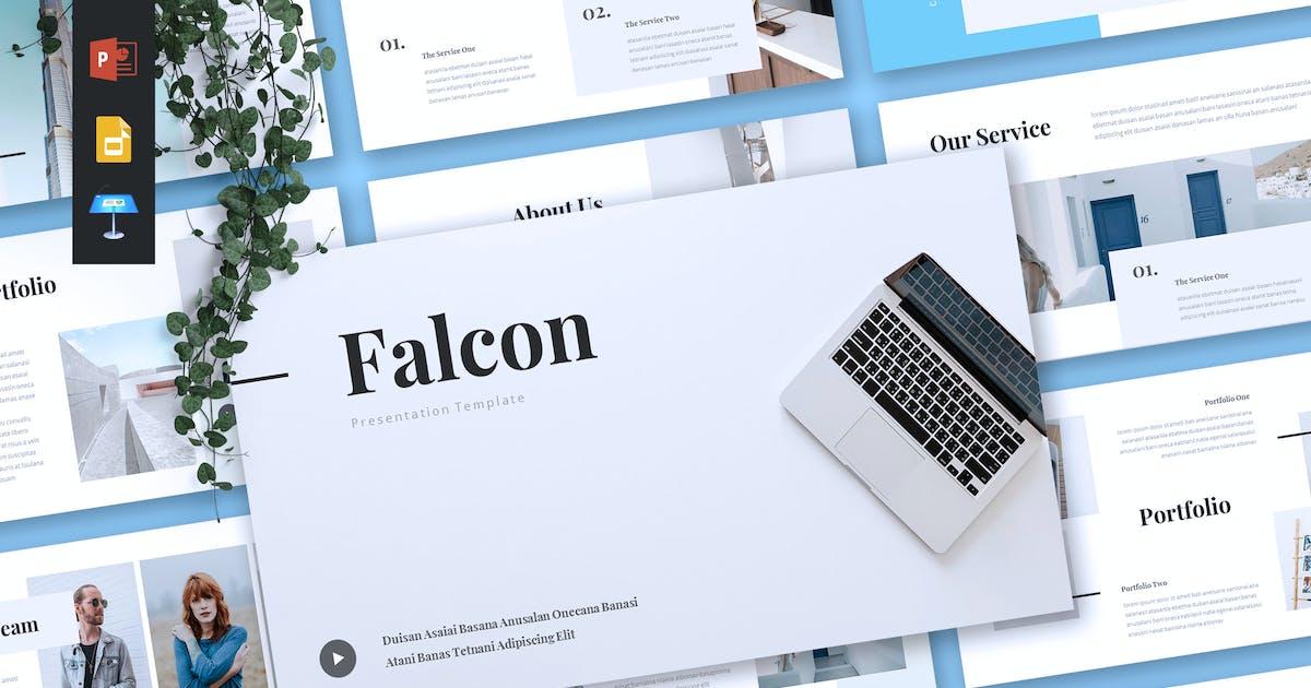 Download FALCON - Company Profile Powerpoint/Keynote/Google by RahardiCreative