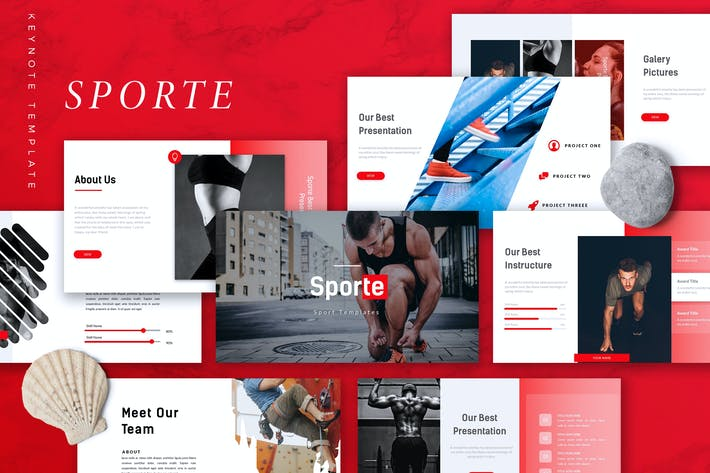 SPORTE - Sport Keynote Template