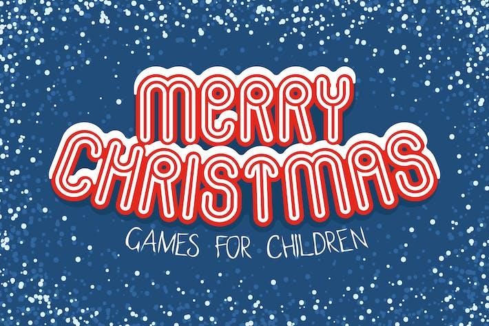 Thumbnail for Рождественские игры для детей