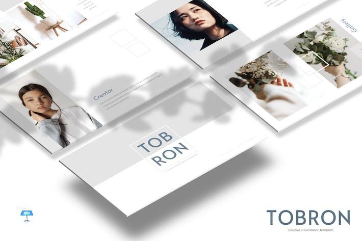 Thumbnail for Tobron - Шаблон Keynote