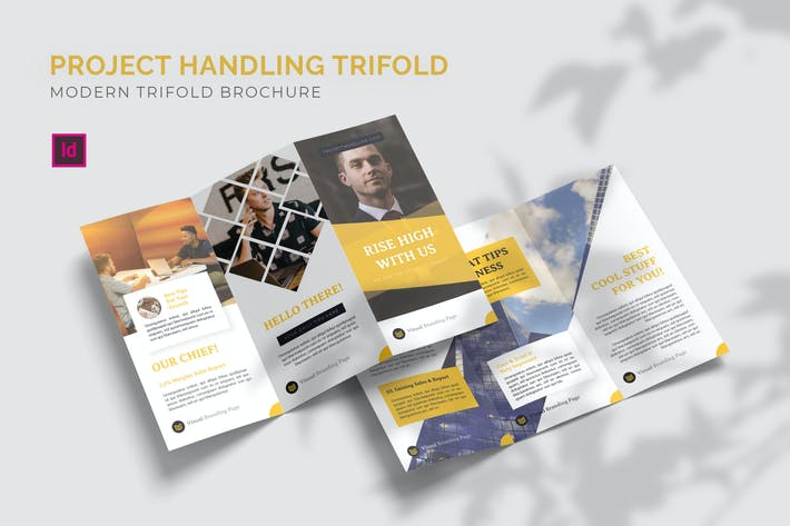 Thumbnail for Project Handling - Trifold Brochure