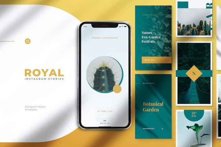 Thumbnail for ROYAL Botanical Instagram Stories