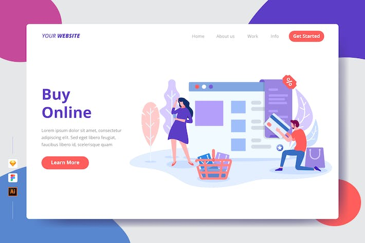 Thumbnail for Buy Online - Landing Page