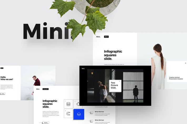 Thumbnail for MINI Powerpoint Template