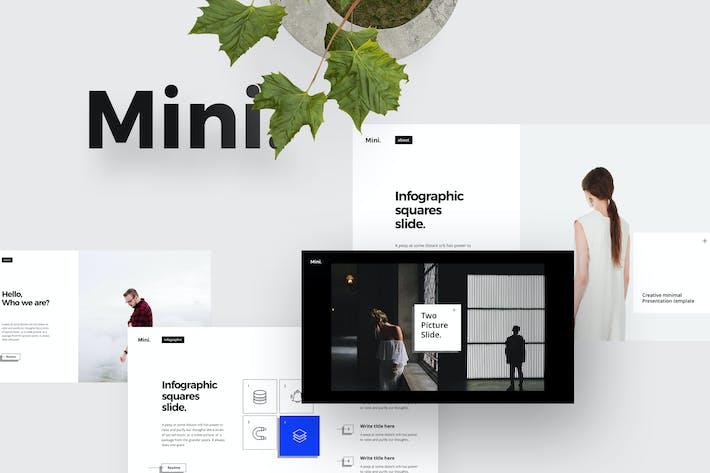 Thumbnail for Шаблон MINI Powerpoint