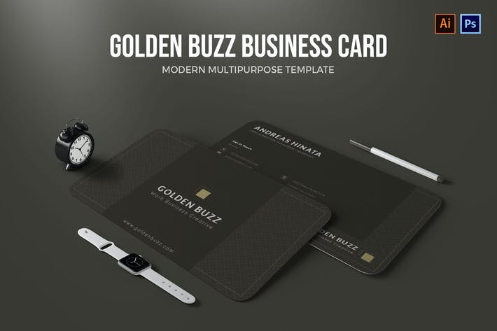 Golden Buzz - Business Card