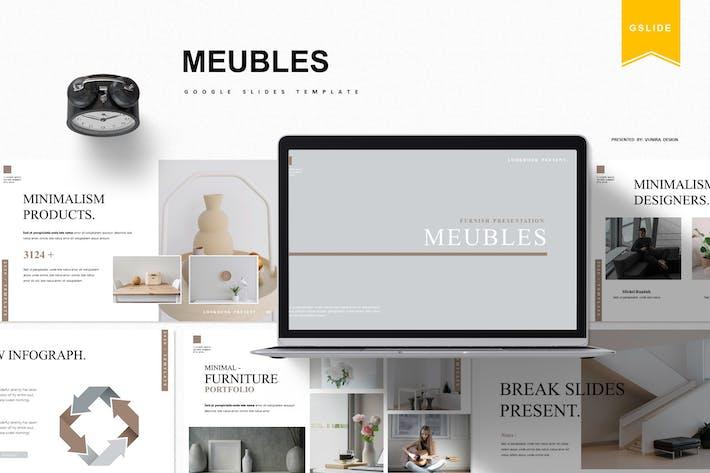 Thumbnail for Meubles | Google Slides Template