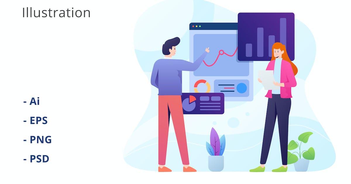 Download Data Audit Illustration by deemakdaksinas