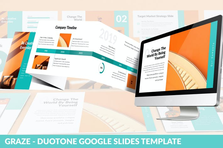 Thumbnail for Graze - Google Slides Presentation Template