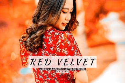 Red Velvet Lightroom Presets Dekstop and Mobile