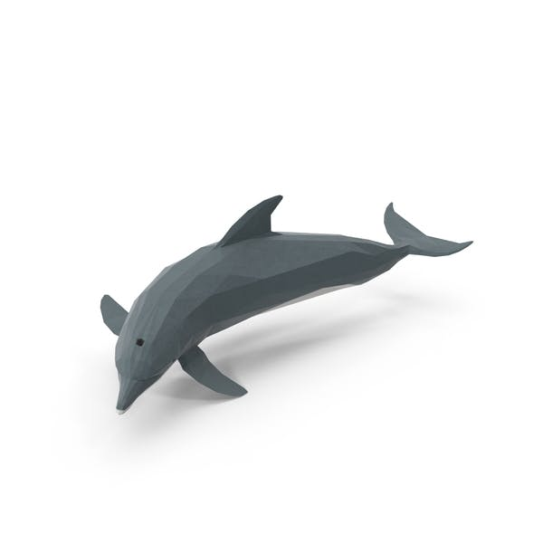 Thumbnail for Low Poly Dolphin