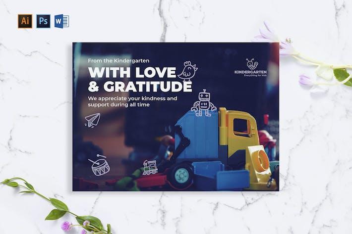 Thumbnail for Carte de vœux maternelle