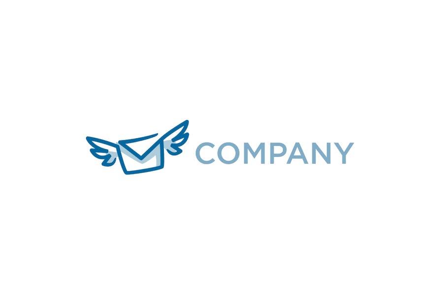 Flying Mail Logo