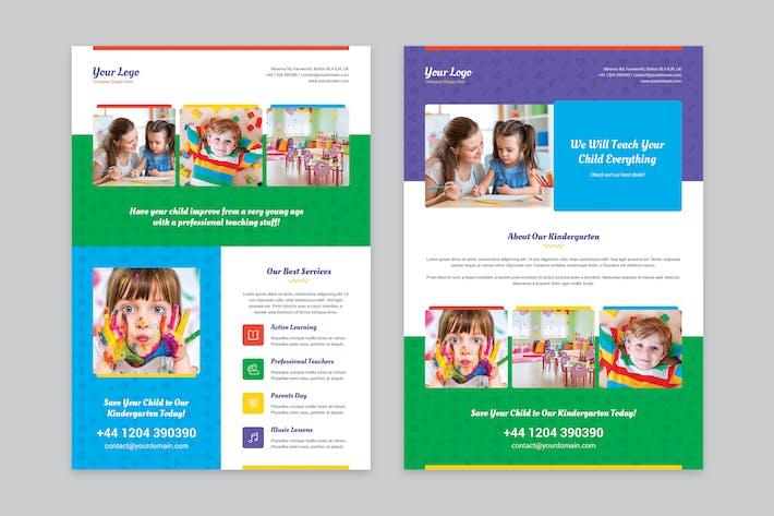 Thumbnail for Flyer — Kindergarten