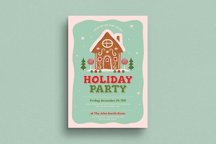 Holiday Party Invitation / Flyer