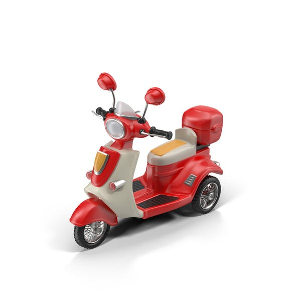 Thumbnail for Cartoon Motor Scooter