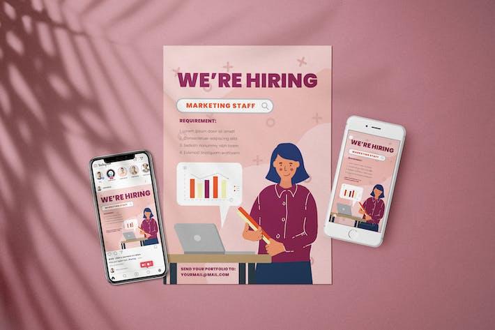Thumbnail for Marketing - Open Recruitment Flyer Kit