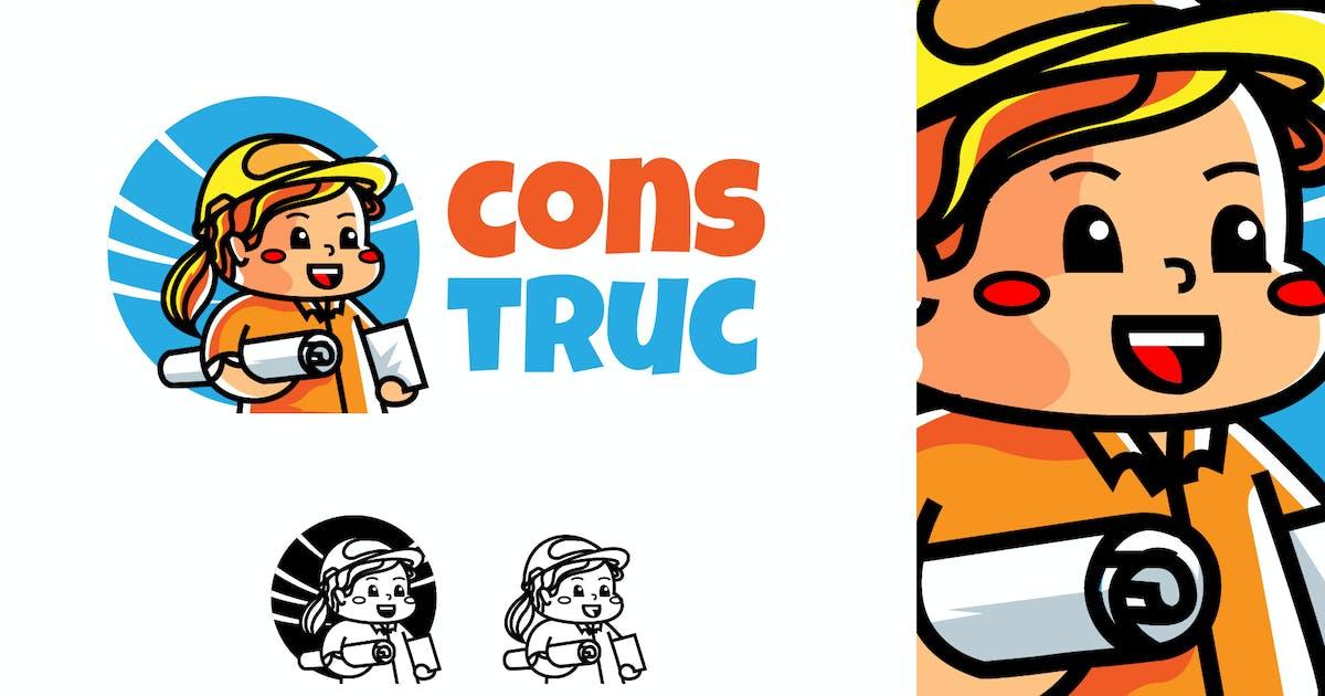 Download Construction - Mascot & Esport Logo by aqrstudio