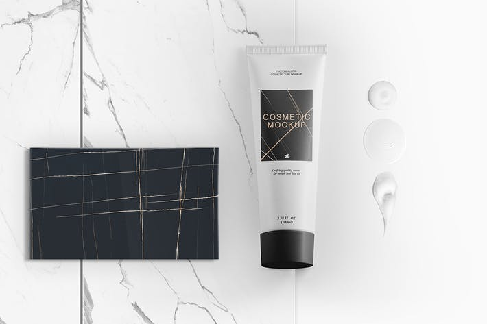 Thumbnail for Cosmetic Tube Packaging Mockup