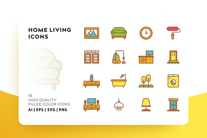 Thumbnail for HOME LIVING FILLED COLOR
