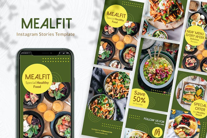 Thumbnail for Mealfit Instagram Stories