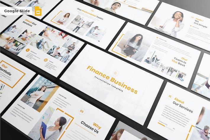 Thumbnail for FINANCE BUSINESS - Google Slide V426