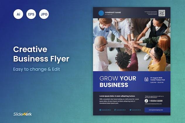 Business Flyer Template 15 - Slidewerk