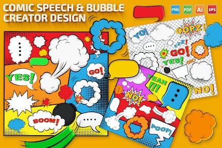 Comic Speech & Bubble Creator