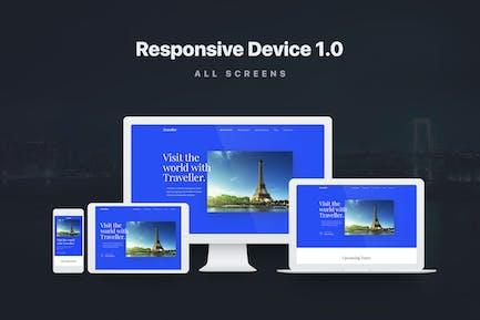 Maqueta de dispositivos Responsivo 1.0