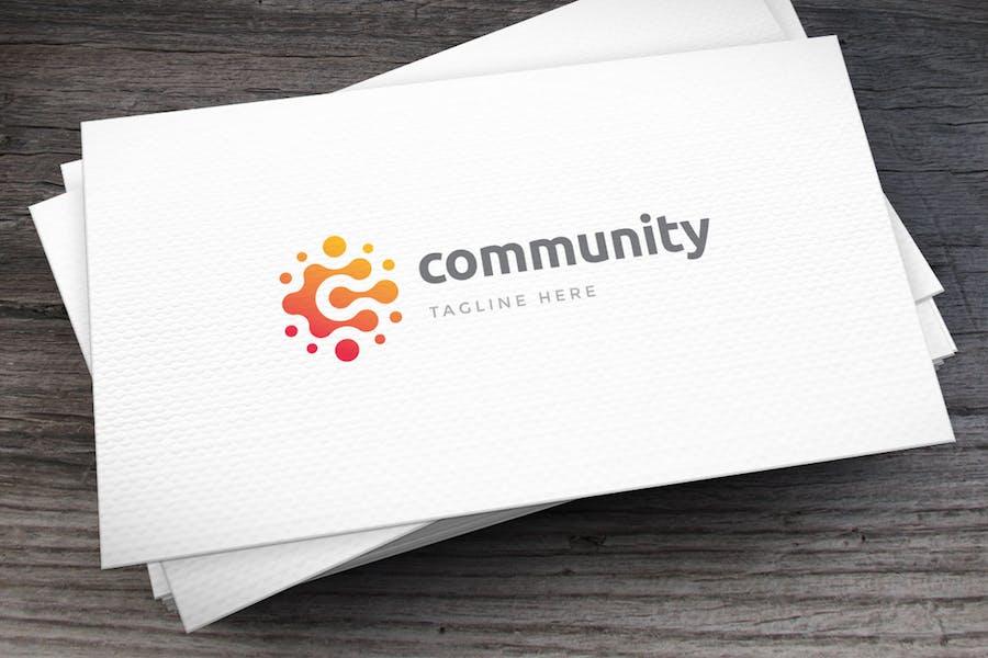 Community Letter C Logovorlage