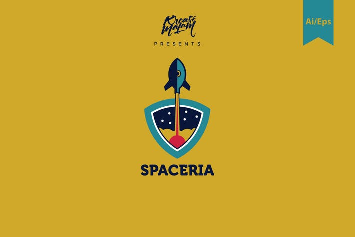 Thumbnail for Spaceria Logo Template