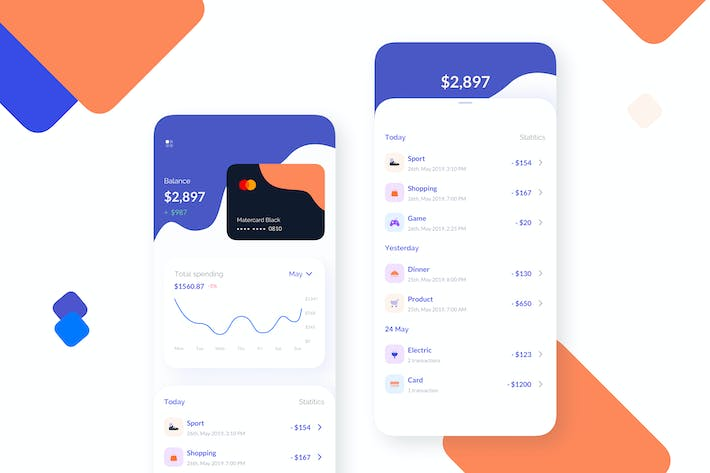 Thumbnail for Card Manager Mobile UI - TG