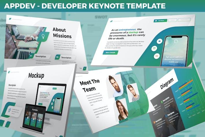 Thumbnail for AppDev - Developer Keynote Template