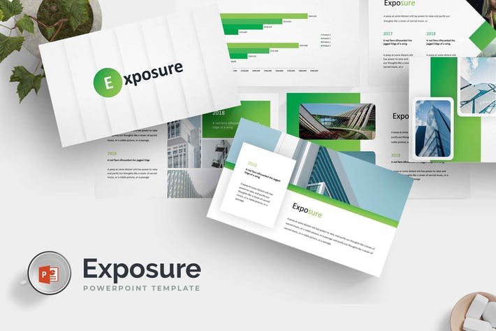 Thumbnail for Exposure - Powerpoint Template