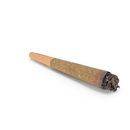 Junta preenrollada de cannabis