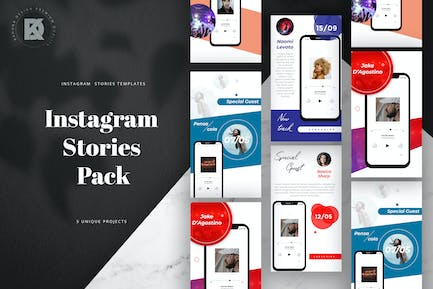 Podcast Instagram Stories Pack