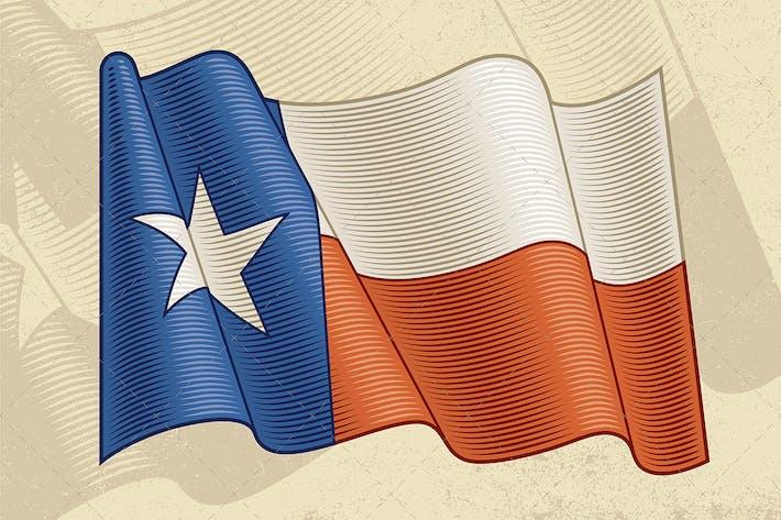 Thumbnail for Vintage Flag Of Texas