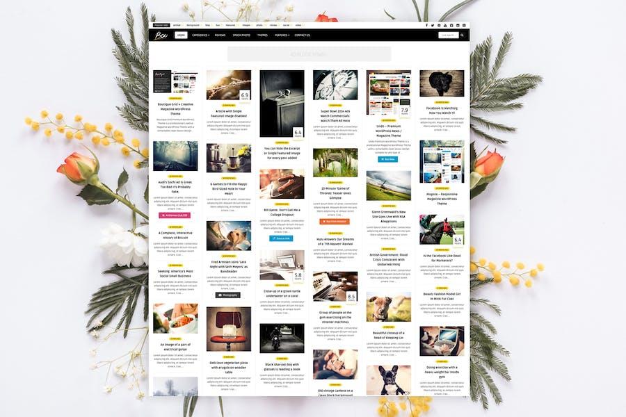 Bou - Personal News Review / Magazine Theme