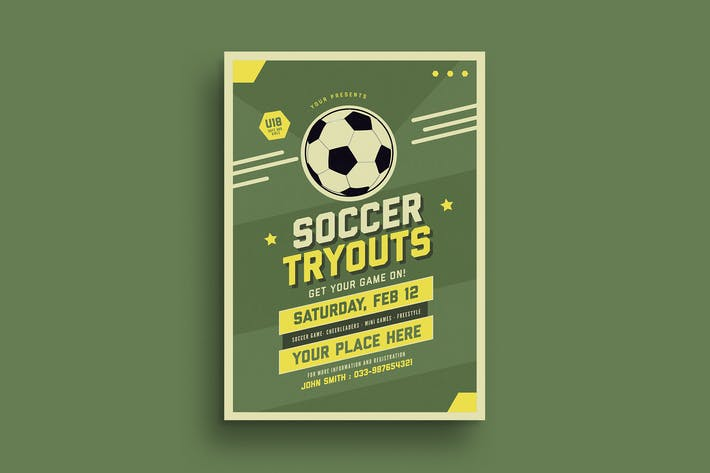 Thumbnail for Old Soccer Tryouts Flyer