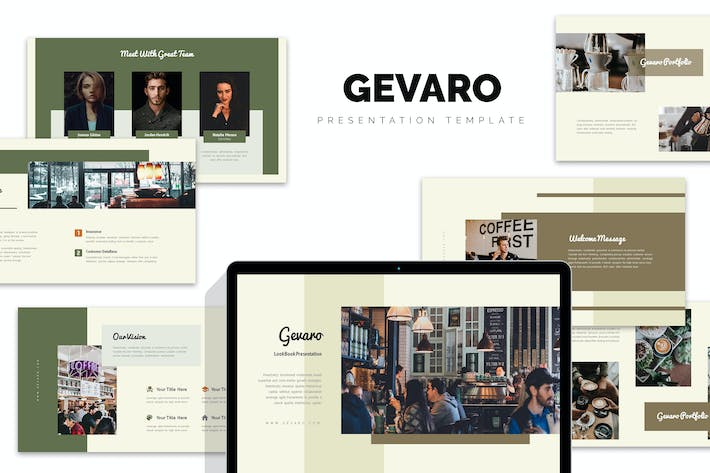 Thumbnail for Gevaro : Coffee Shop Keynote