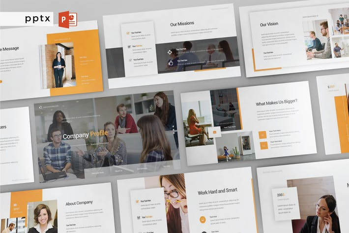 Thumbnail for COMPANY PROFILE - Multipurpose Powerpoint V177