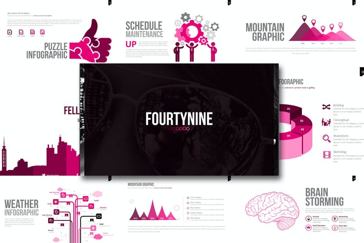 Thumbnail for Fourty Nine - Powerpoint Template