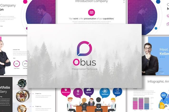 Thumbnail for Obus - Google Slides Template