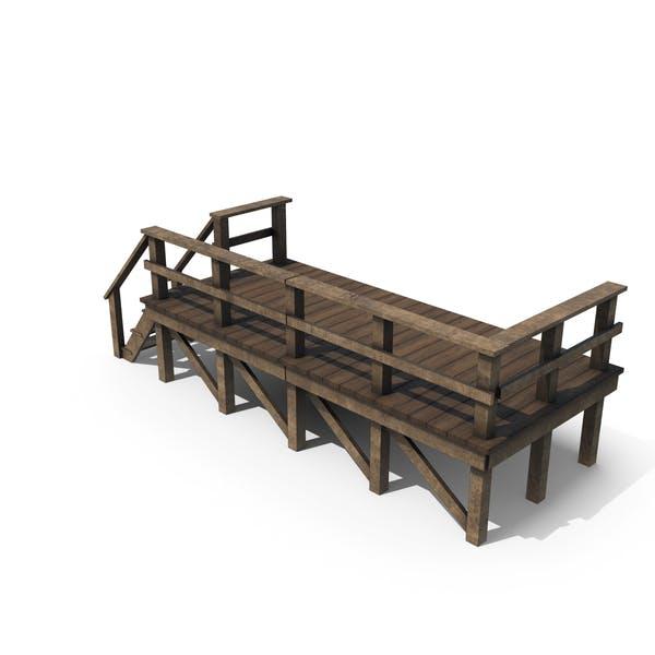 Деревянная платформа